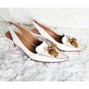 Emanuel ungaro Paris  heels shoes size 6 1/2